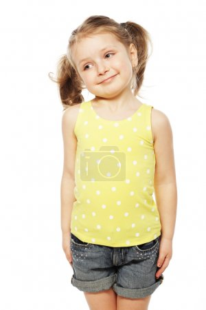Photo for Happy time for little girl - Royalty Free Image