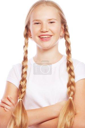 European blonde girl