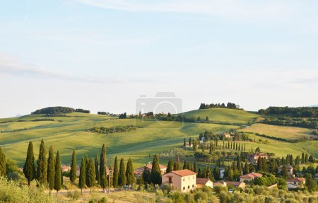 Typical Tuscany landscape