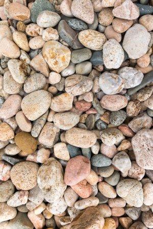 Photo pour Galets de mer / pierres de mer fond - image libre de droit