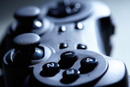 Close up gaming controller