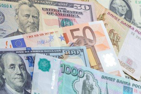 Money banknotes concept