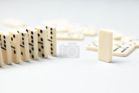 white Domino pieces