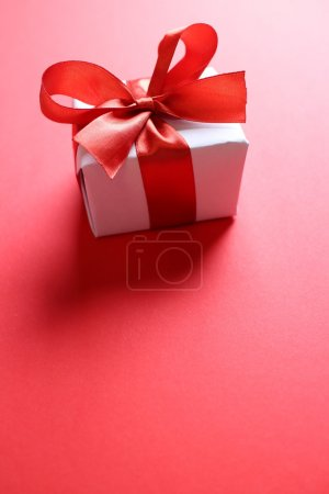 giftbox with red ribbon