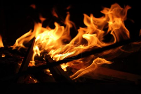 Bright Flame background