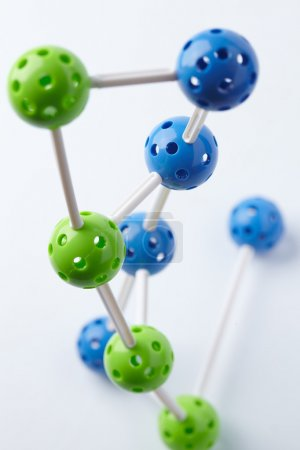 colorful Molecular Structure
