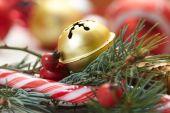 Vánoční ozdoby zblízka