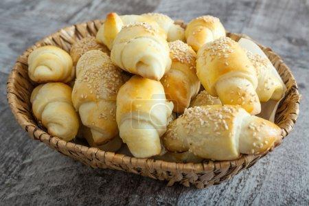 hausgemachtes kleines Brot wie Snacks