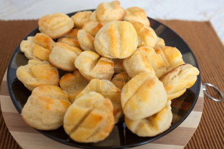 Homemade small bread like snacks