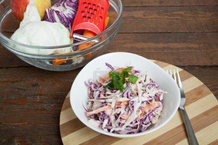 Photo for Fresh Cabbaga Mix Salad - Royalty Free Image