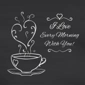 Miluji každé ráno s tebou