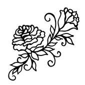 Pattern of flower background