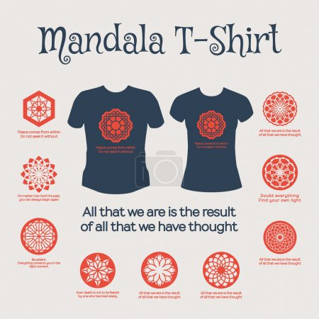 Vector Mandala T-Shirt