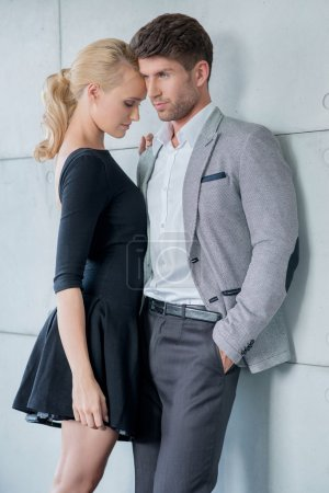 Romantic Middle Age Lovers Fashion Shoot