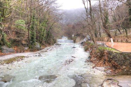 Embankment of the river Termopotamos