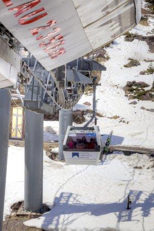 Elbrus. Station of Aerial lift