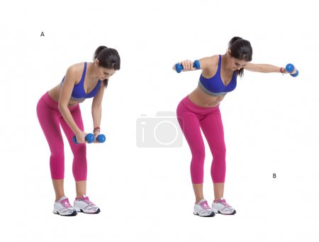 Dumbbells lateral raise
