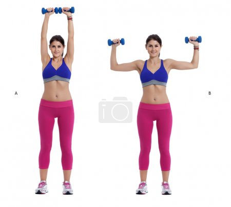 Dumbbell exercise for arms