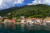 Pohled na zátoku Kotor