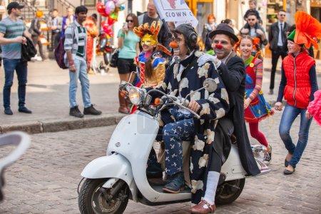 Participants of   festival Humorina, Odessa