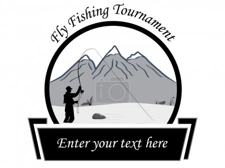 Fly fishing tournament flyer