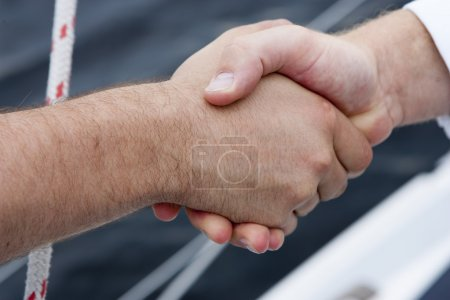 Handshake athletes