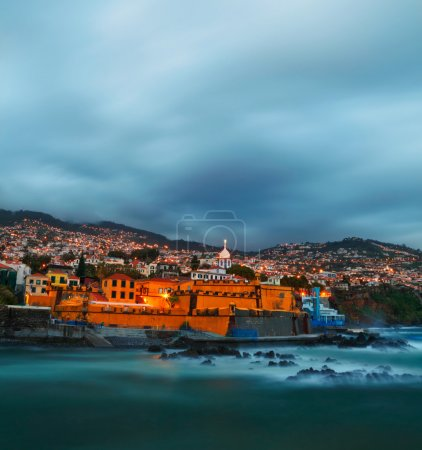 Photo for View of old castle Fortaleza de Sao Tiago. Funchal, Madeira, Portugal - Royalty Free Image