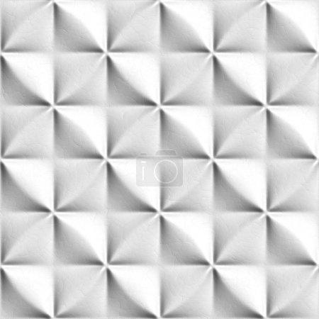 Seamless white pattern.