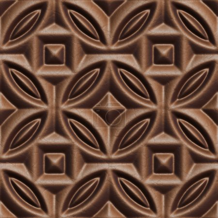 Photo for Seamless tileable decorative background pattern - Royalty Free Image