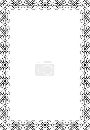 Scroll Victorian Nice Art Page