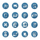 Repair Service and Maintenance Icons Set