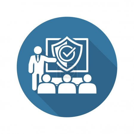 Security Briefing Icon. Business Concept.