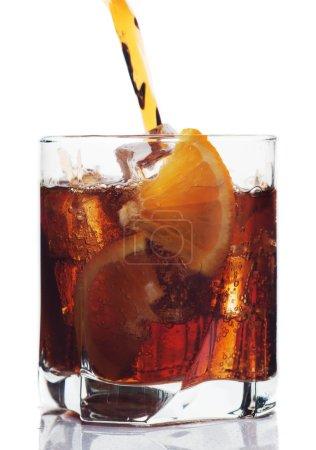 Verre de boisson au cola