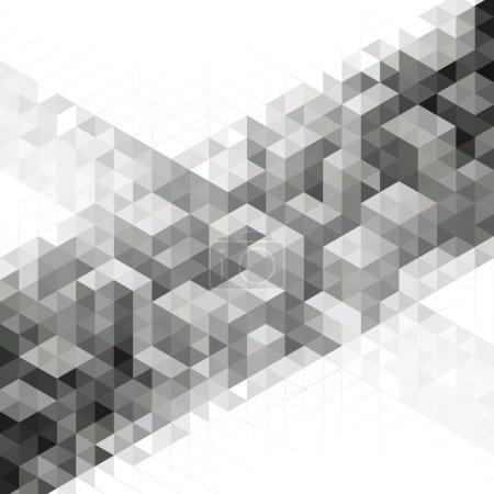 Illustration pour Résumé géométrique moderne fond de design urbain . - image libre de droit