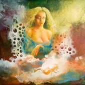 """Постер, картина, фотообои """"Женщина мечты"""""""