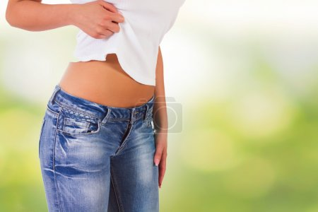 Attractive Slim Woman
