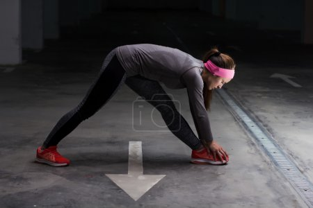Fitness Sporty Exercising Active Woman