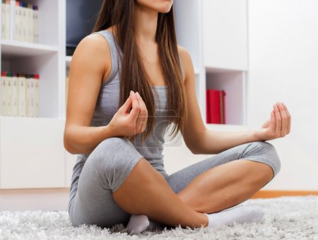 Yoga Woman Relax Healthy Lifestyle