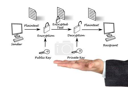Photo for Public key encryption - Royalty Free Image