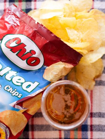 chio chips illustrative editorial