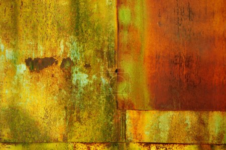 Metal surface with rust