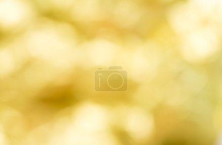 Gold blurred background