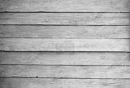 Wooden texture barn boards black and white photo...