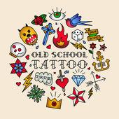 Stará škola tetování