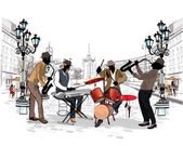 Musicians in the city