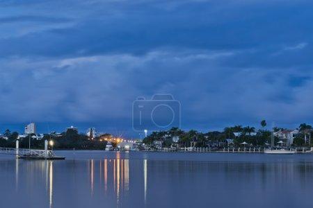 Twilight at Mooloolaba Marina