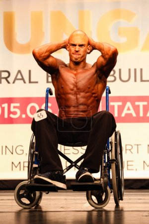 INBA bodybuilding championship disabled category
