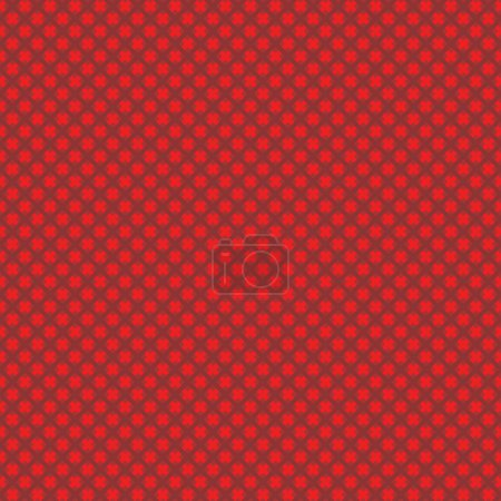 Illustration pour Fond tissé abstrait sans couture (facile à répéter) (texture, motif, tuile, échantillon, papier peint, impression) de couleurs rouges de Noël - image libre de droit