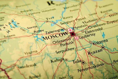 Map Moscow