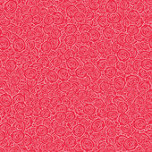 Vector Red Handdrawn Roses Seamless Pattern Background texture with dense filling with flowers for your romantic projects wrapped paper packing and other seamless designs